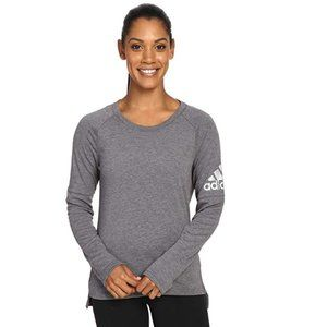 NEW adidas Womens Performer Cover-Up LS Tee